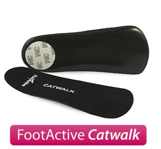 FootActive Catwalk - Innleggssåler for høyhælte sko