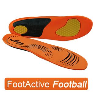 FootActive Football - Innleggssåler for fotballsko