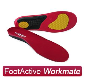 FootActive Workmate - Innleggssåler for arbeidssko